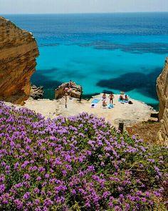 Cala Bue Marino, Favignana, Egadi Islands, Sicily www.facebook.com/loveswish