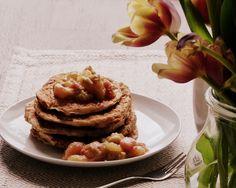 Frühlingsbrunch mit leckeren Pancakes