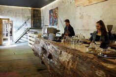 Spotted by Lady Kerstyn | #kavarnacohledajmeno #coffee #coffeehouse #cafe #café #interior #DIY #handmade #reconstructed #wood #recycling #upcycling #cozy #interior #interiordesign #insidedecor #kavárna #káva #wood