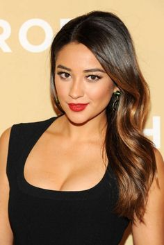 Shay Mitchell Hair. Brown to caramel ombre. Summer 2014 Hair <3