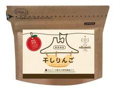 sapponさんの提案 - 干し林檎(ドライりんご、dry APPLEなど)のパッケージデザイン   クラウドソーシング「ランサーズ」