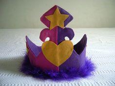 Novas coroas de Princesa de feltro - Atelier Pequeno