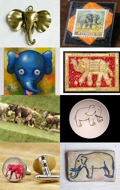 God save the elephants! by Przemila K on Etsy--Pinned with TreasuryPin.com