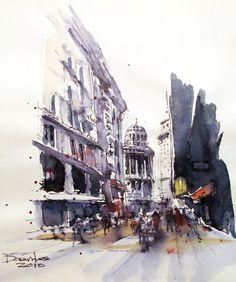 Norberto Dorantes (Urban Sketchers)