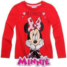 Minnie Mouse merchandise for girls, Minnie Mouse clothes for fans of Mickey's sweetheart, Minnie Mouse fancy dress options, and other cool Disney clothing items. Minnie Mouse Fancy Dress, Disney Outfits, Disney Clothes, Disney Fun, Graphic Sweatshirt, T Shirt, Future Baby, Clothing Items, Mini