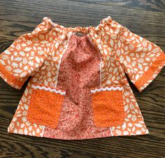 Fall Foliage Tunic Top size 18 - 24 months WTOKF18 by WhigsandTories on Etsy