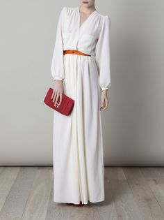 Roksanda Ilincic wool crepe dress (there have to be some 70s vintage dresses like this for sale somewhere)