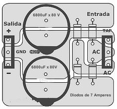 Fontes para amplificadores de potência com diversas opções de amperagem. Electrical Engineering Books, Electrical Projects, Dc Circuit, Circuit Diagram, Hobby Electronics, Electronics Projects, Inverter Welder, Electronic Circuit Design, Battery Charger Circuit