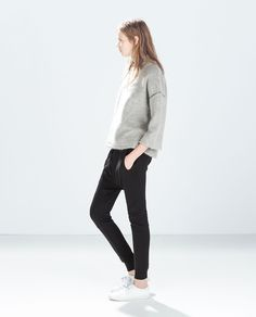 Image 1 of BAGGY JOGGERS from Zara