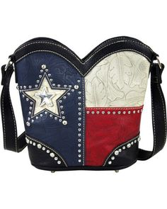 RED TRIBAL PATTERN DESIGN FLAT THICK WALLET MONTANA WEST WESTERN FASHION BLING