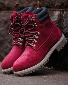 "uk availability be594 89431 Ronnie Fieg X Timberland 6"" 40 Below Boot-Wine. Red Timberland Boots,"