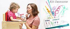 I vantaggi del utilizzo delle cannucce nella terapia di oral motor