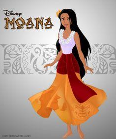 Moana Waialiki by kleyber.deviantart.com on @deviantART