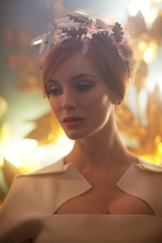 """Christina Hendricks for Vivienne Westwood """"Get A Life"""" Palladium Jewelry Collection by Greg Williams"""