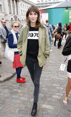 Alexa Chung/ fashion/ Moving to her own groove