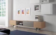 Q modular programme Chrome Finish, Living Room, Storage, Wood, Furniture, Tv Units, Cabinets, Room Ideas, Home Decor