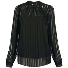 Yoins Chiffon Top (35 CAD) ❤ liked on Polyvore featuring tops, blouses, yoins, black, shirts & blouses, boat neck tops, black chiffon blouse, boat neck shirt, black chiffon top and boatneck blouse