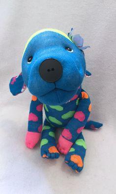 Original Sock Dog Lolo Stuffed Animal Dog Mutt by originalsockdogs