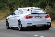 First BMW M4 GT4 Prototype Spy Shots Emerge