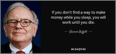 Warren Buffett, Way To Make Money, Make Money Online, How To Make, Warren Buffet Quotes, Money Is Not Everything, Regret, Learn From Your Mistakes, E Mc2