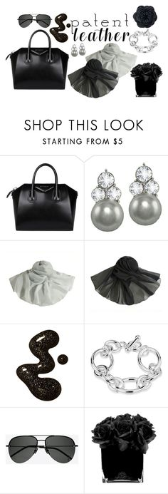 """""""Patent Leather"""" by eternal-collection ❤ liked on Polyvore featuring Givenchy, Yves Saint Laurent, Hervé Gambs and Chico's"""