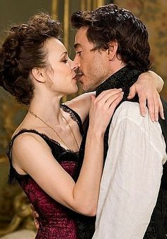 The art of deduction and the art of seduction - Sherlock Holmes and Irene Adler.