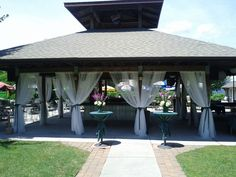 Image result for decorating flat ceiling no wall pavillion wedding outdoor