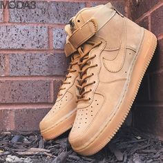 reputable site 23f9f c191d New Arrival   Nike Sportswear   Air Force 1 High  07 LV8 WB   Wheat