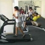 Gym facilities is available at Tiara Beach Resort Port Dickson.