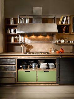 Oltre 1000 idee su mobili in stile industriale su - Cucine stile industriale vintage ...
