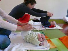Yoga with Mom.