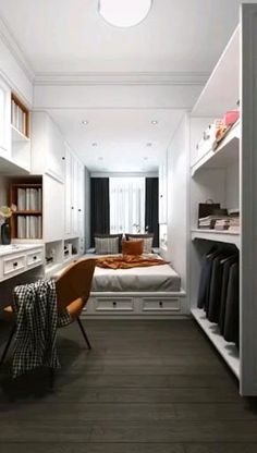 Small Room Design Bedroom, Small House Interior Design, Bedroom Furniture Design, Modern Bedroom Design, Home Room Design, Kids Bedroom Designs, Cool Room Designs, Apartment Design, Home Decor Styles