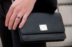 cz: Lauren by Ralph Lauren bag, Zorya ring (Photo: Andrej Malec) Ralph Lauren Bags, Malec, Handbags, Ring, Black, Style, Fashion, Totes, Rings