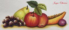 Pintura em tecido. Painting fabric. #painting #pintura #frutas #fruits
