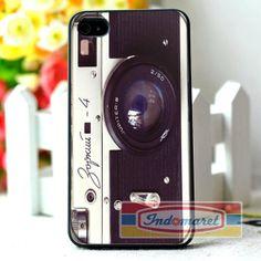 Zorki vintage camera iPhone 4/4s iPhone 5/5s/5c by Indomaret, $10.00