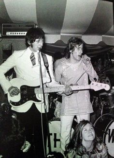 The Who playing at the Pembroke College May Ball at Grand Marquee in Oxford, United Kingdom ~ May 27th, 196