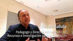 Hablamos con el pedagogo Antoni Zabala, un referente a la hora de abordar el tema de las competencias básicas.