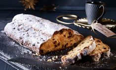 Quarkstollen mit Marzipan Rezept | Dr. Oetker Stollen Recipe, Christmas Baking, Banana Bread, French Toast, Xmas, Breakfast, Recipes, Food, Pictures
