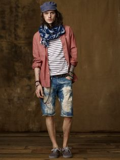 I know this is men's clothing..but it'd be totally cute on a girl too...actually it would look better on a girl.