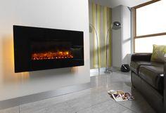 Una chimenea eléctrica, antes que nada es una chimenea decorativa, pero que al mismo tiempo sirve de calefacción de apoyo