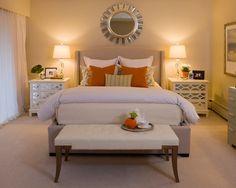 Bedroom - wall color Edgecomb Gray