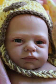 "Enchanted Moments Nursery: Reborn Baby Girl ""Savannah"" www.wonderfinds.com/item/3_300906705206/c122723/Reborn-Baby-Girl"