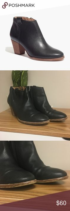 Madewell Billie Boots Minor scuffing around edges of toe- see pictures. Otherwise in good condition with lots of life left!   *All orders typically ship within 24 hours! Madewell Shoes Ankle Boots & Booties