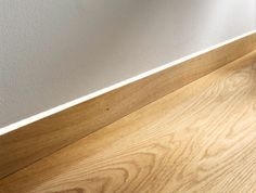 Skirting board flush with the wall and led light - Google Search