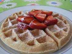 Low Fat Waffles - Fiona Haynes