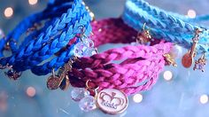 Wrap Braided Charm Bracelets DIY (+playlist)