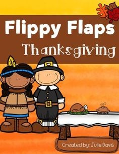 Thanksgiving Flippy Flaps!  This is a great way to get your students learning about Thanksgiving in a fun hands-on interactive way! Your students will be engaged and learn about Thanksgiving in many different ways!  Activities included: - Pilgrims did/had/were - Label a pilgrim - All About Pilgrims - Pilgrim KWL - Pilgrim Vocabulary - Pilgrim Facts - Compare You & a Pilgrim - Native Americans did/had/were - Label a Native Americans - All About Native Americans - Native Americans KWL