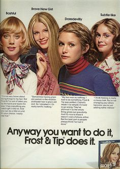 """1974 I remember these ads when I was a little girl I thought """"how glamorous """" they were :) Retro Advertising, Retro Ads, Vintage Advertisements, Vintage Ads, Vintage Stuff, Vintage Makeup, Vintage Beauty, Hj History, 70s Hair"""