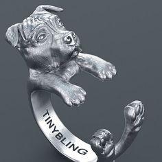 Pit Bull Cuddle Wrap Ring