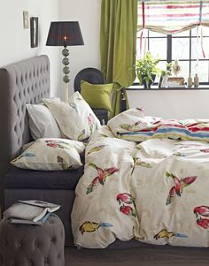 Home Fashion, Comforters, Blanket, House Styles, Bed, Interior, Creature Comforts, Quilts, Stream Bed